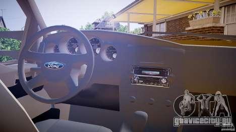 Ford F350 Stock для GTA 4 вид сзади