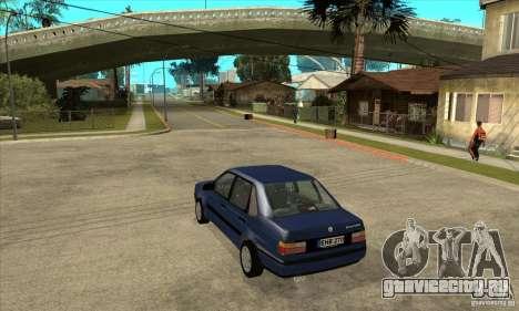 Volkswagen Passat B3 Stock для GTA San Andreas вид сзади слева