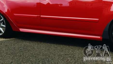 Chevrolet Agile для GTA 4 вид снизу