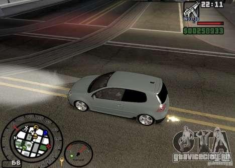 Огонь из выхлопов V2.0 для GTA San Andreas пятый скриншот