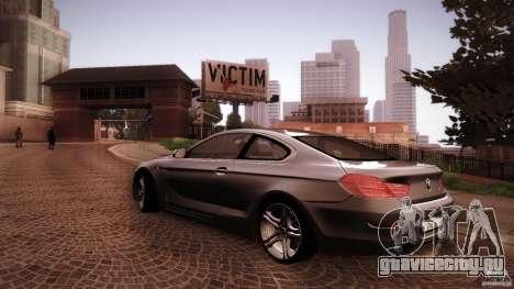 BMW 640i Coupe для GTA San Andreas вид сбоку