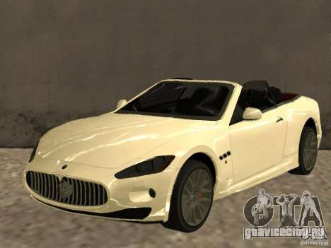 Maserati GranCabrio 2011 для GTA San Andreas