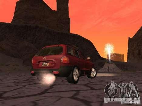 Hyundai Santa Fe Classic для GTA San Andreas вид справа