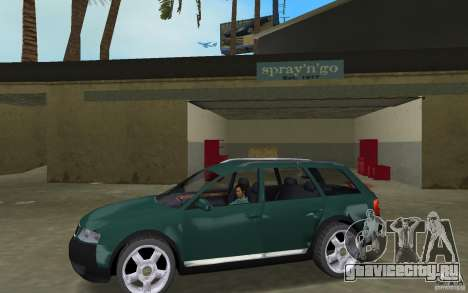 Audi Allroad Quattro для GTA Vice City вид слева
