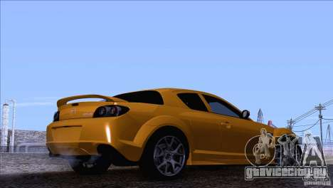 Mazda RX8 R3 2011 для GTA San Andreas вид слева