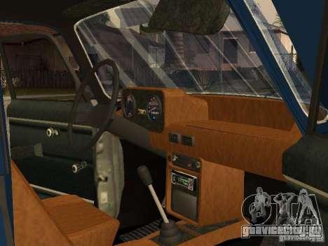Москвич 412 - 4x4 для GTA San Andreas вид сбоку