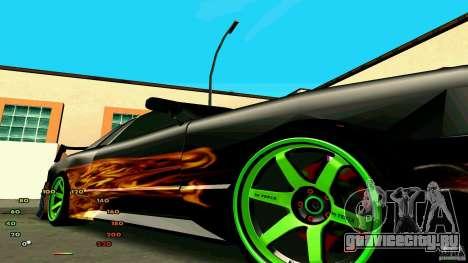 Еlegy by fen1x для GTA San Andreas вид сзади слева