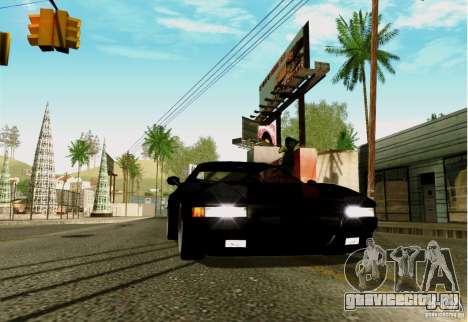 ENBSeries FS by FLaGeR v 1.0 для GTA San Andreas второй скриншот