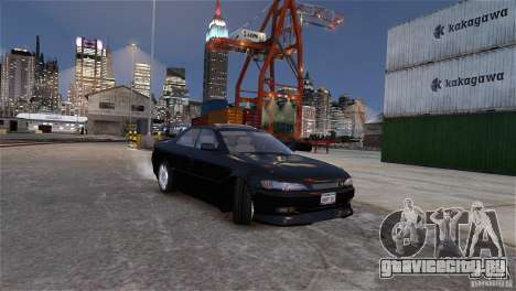 Toyota Mark II 2.5 для GTA 4 вид сверху