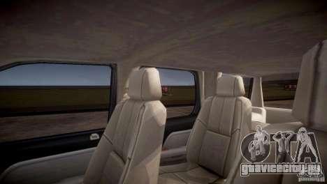 Chevrolet Tahoe 2012 NYPD для GTA 4 вид снизу