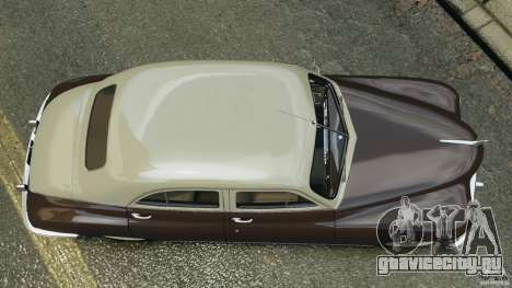 Packard Eight 1948 для GTA 4 вид сзади