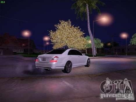 Mercedes-Benz S65 AMG V2.0 для GTA San Andreas вид сбоку