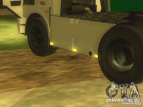 МАЗ Turbo 5432 для GTA San Andreas вид слева