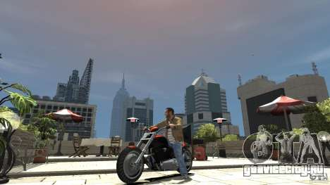 The Lost and Damned Bikes Revenant для GTA 4 вид слева
