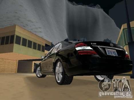 Mercedes-Benz S600 для GTA San Andreas салон
