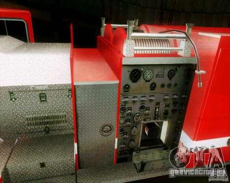 Pumper Firetruck Los Angeles Fire Dept для GTA San Andreas вид справа