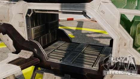 Вертолёт C.E.L.L. для GTA 4 вид изнутри