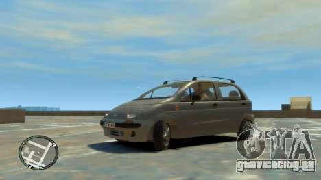 Daewoo Matiz Style 2000 для GTA 4 вид справа