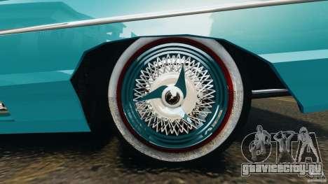 Ford Thunderbird Light Custom 1964-1965 v1.0 для GTA 4 вид снизу