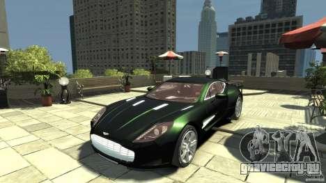 Aston Martin One-77 [EPM] для GTA 4