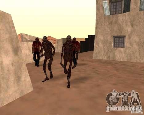Zombie Half life 2 для GTA San Andreas третий скриншот