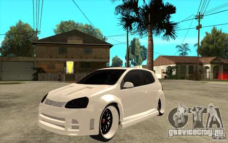 VW Golf 5 GTI Tuning для GTA San Andreas