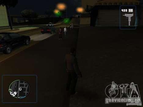 HUD и оружие из GTA IV для GTA San Andreas третий скриншот