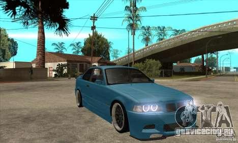 BMW M3 HAMMAN для GTA San Andreas вид сзади