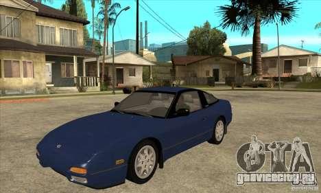 Nissan 240sx - Stock для GTA San Andreas