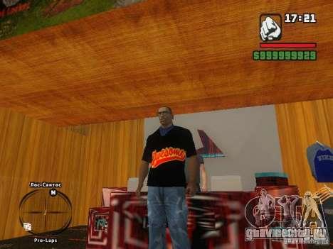 Футболка THE MIZ для GTA San Andreas