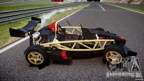 Ariel Atom 3 V8 2012 для GTA 4 вид сбоку