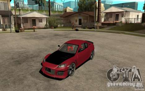Mazda RX-8 Time Attack JDM для GTA San Andreas