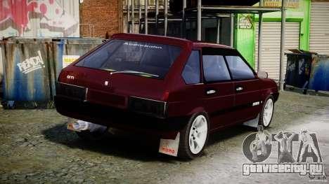 ВАЗ-2109 Samara 1999 для GTA 4 вид сверху
