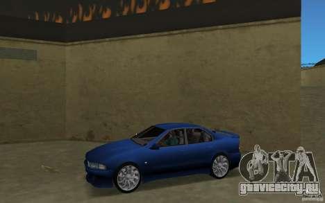 Mitsubishi Galant для GTA Vice City вид слева