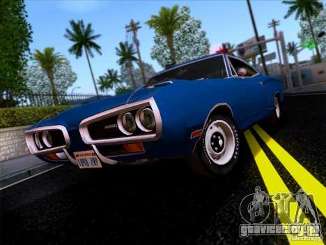 Dodge Coronet Super Bee v2 для GTA San Andreas