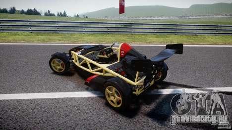 Ariel Atom 3 V8 2012 для GTA 4 вид сверху