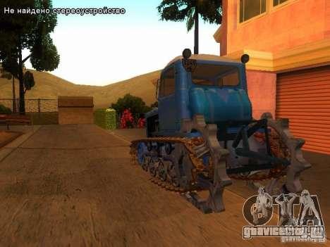 ДТ-75М Казахстан для GTA San Andreas вид сзади