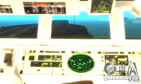 CVN-68 Nimitz для GTA San Andreas третий скриншот