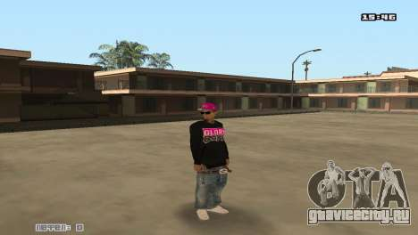 Ballas Skin Pack для GTA San Andreas второй скриншот
