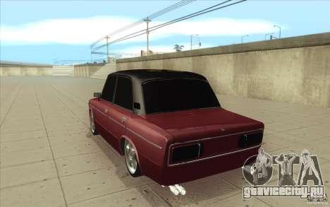 ВАЗ-2106 Lada для GTA San Andreas вид сзади слева
