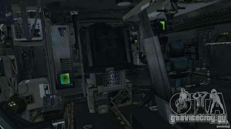 M1A2 Abrams для GTA 4 вид сзади