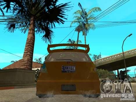 Honda Jazz Sport для GTA San Andreas вид сзади слева