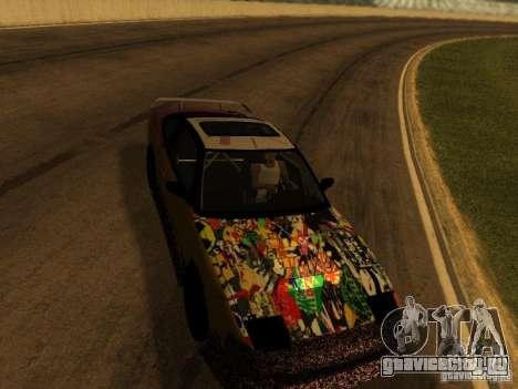 Nissan 240sx Street Drift для GTA San Andreas вид изнутри