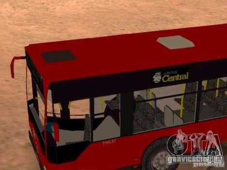Mercedes-Benz Citaro G для GTA San Andreas вид сбоку