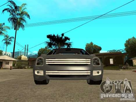 Ford Fusion 2008 Dub для GTA San Andreas вид справа
