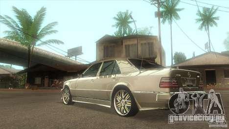 Mercedes-Benz E500 VIP Class для GTA San Andreas вид сзади слева