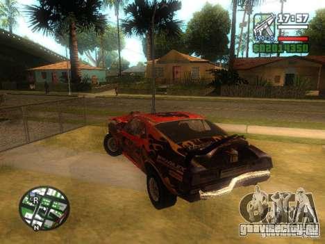 Blade из FlatOut для GTA San Andreas вид справа