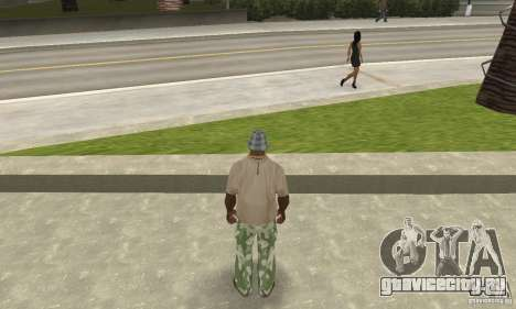 Камуфляжные штаны для GTA San Andreas третий скриншот
