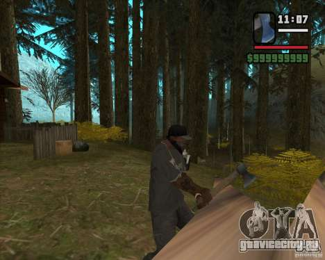 Дом охотника v3.0 Final для GTA San Andreas пятый скриншот