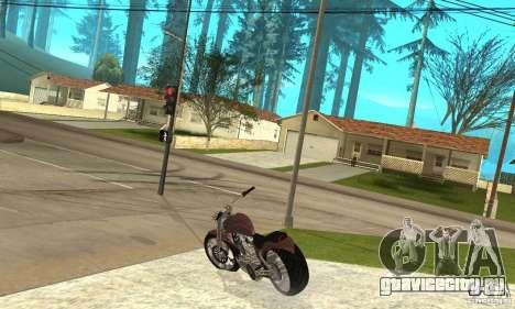 TLAD_Lucan для GTA San Andreas вид сзади слева
